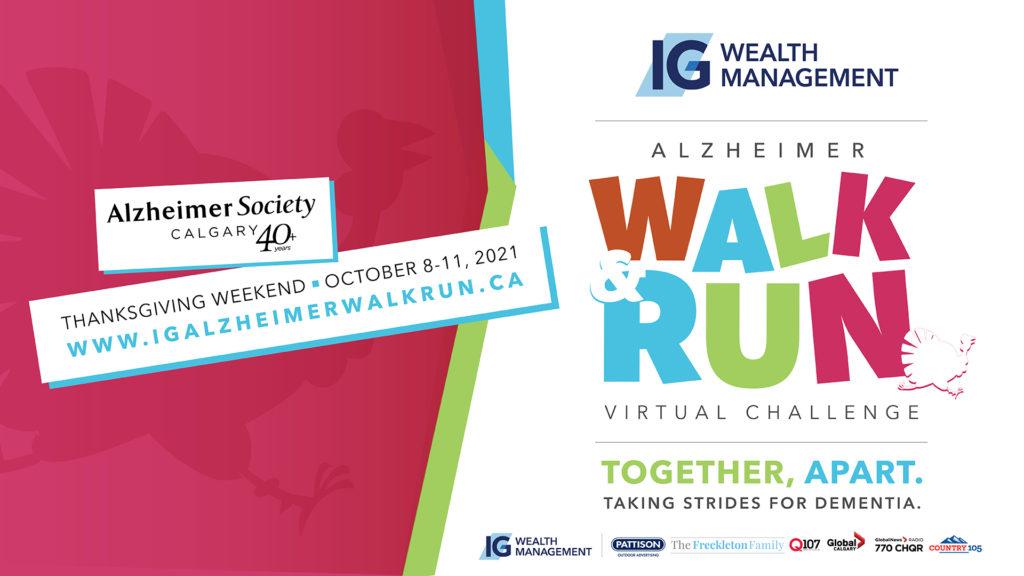 IG Wealth Management Alzheimer Walk & Run.